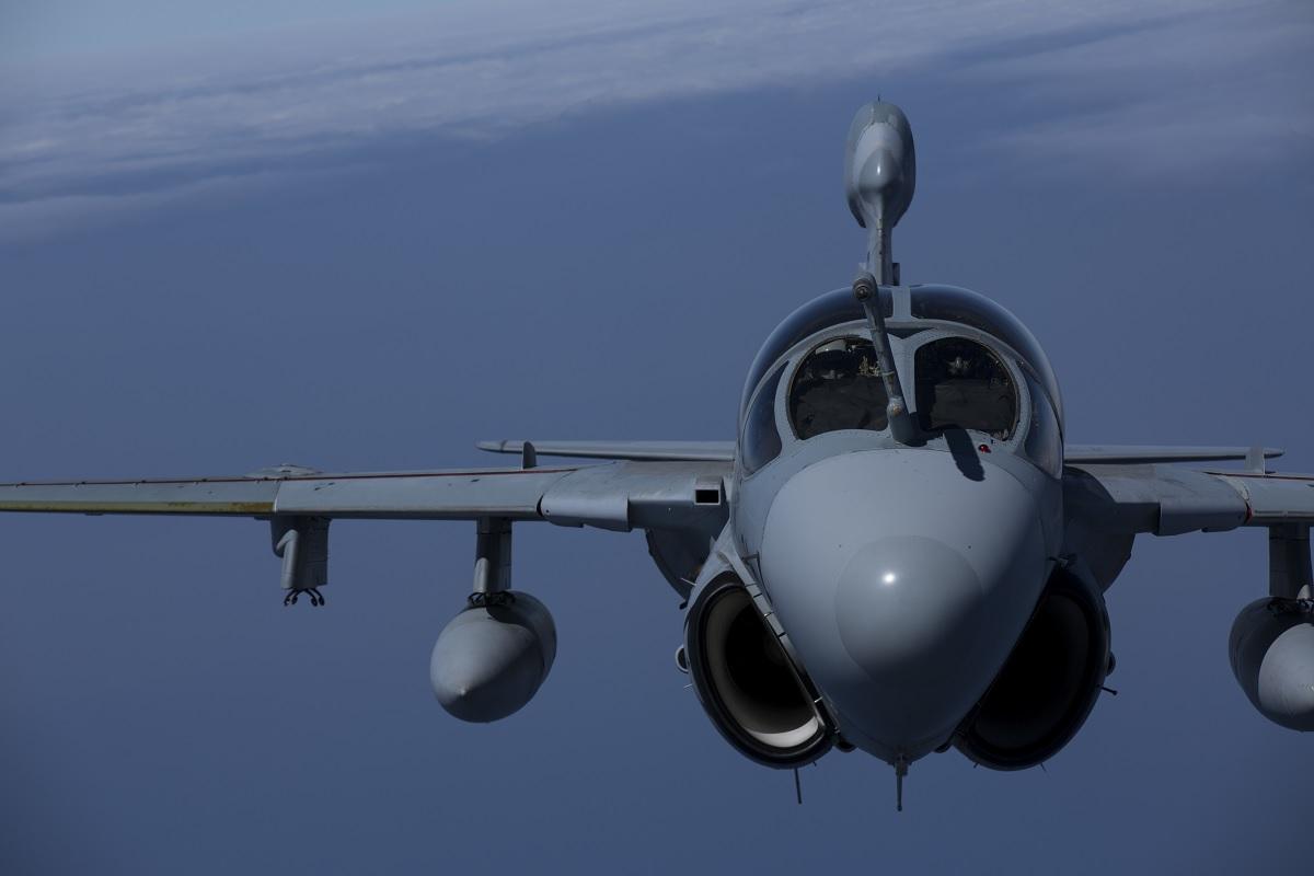 The last USMC EA-6B Prowler squadron