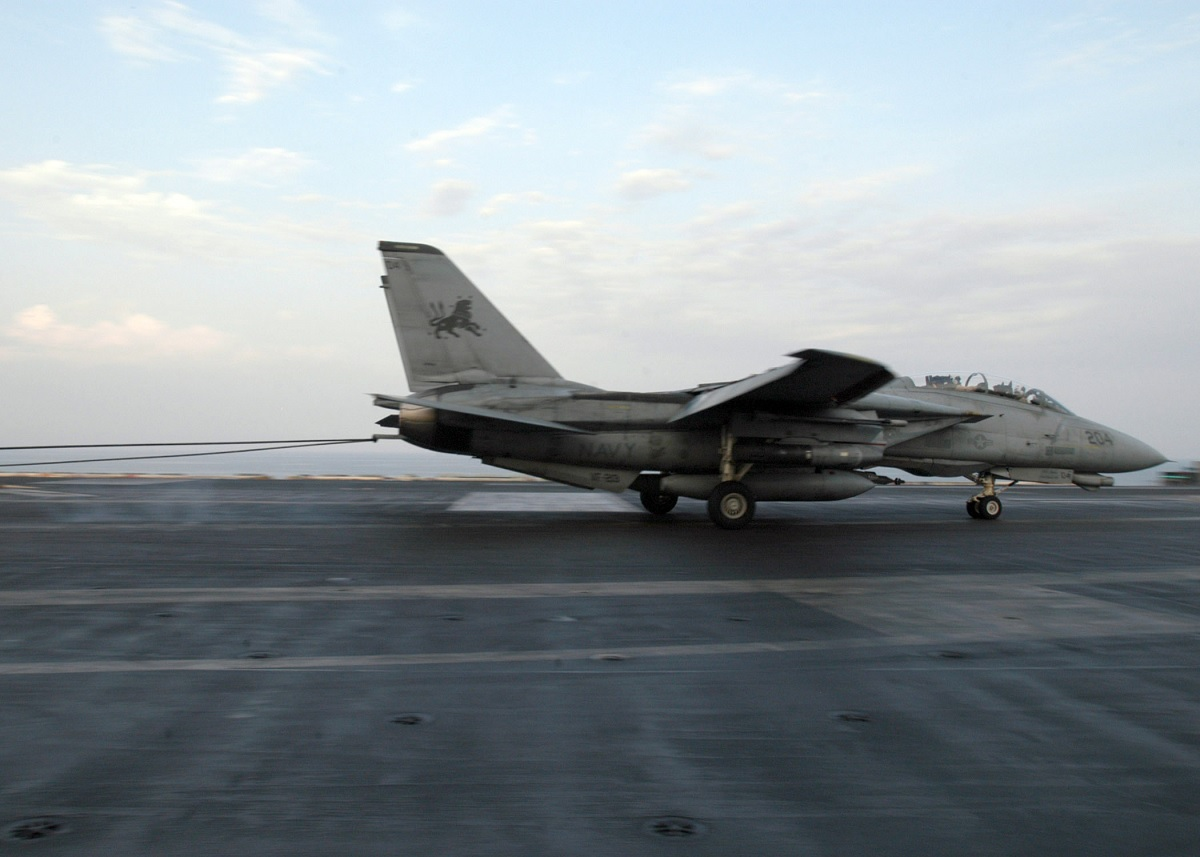 BYE-BYE BABY...! REMEMBERING THE F-14 TOMCAT LAST COMBAT TRAP