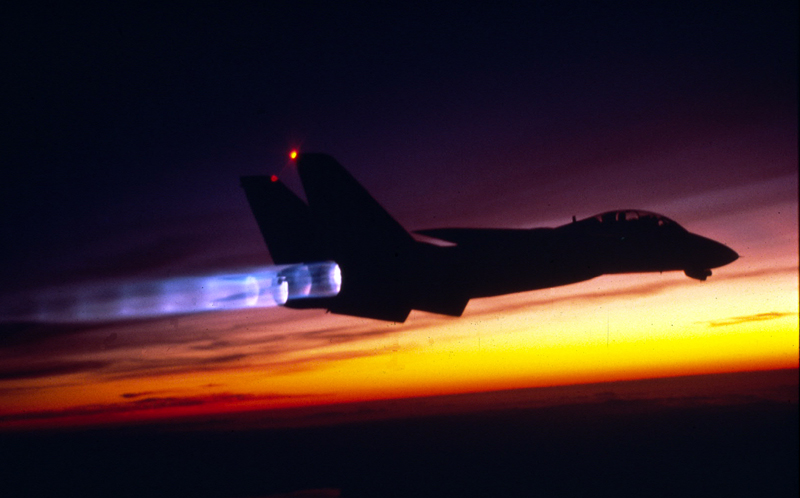 Former Tomcat RIO explains how a well trained F-14 crew could face alone 5 gutsy F-4 Phantoms