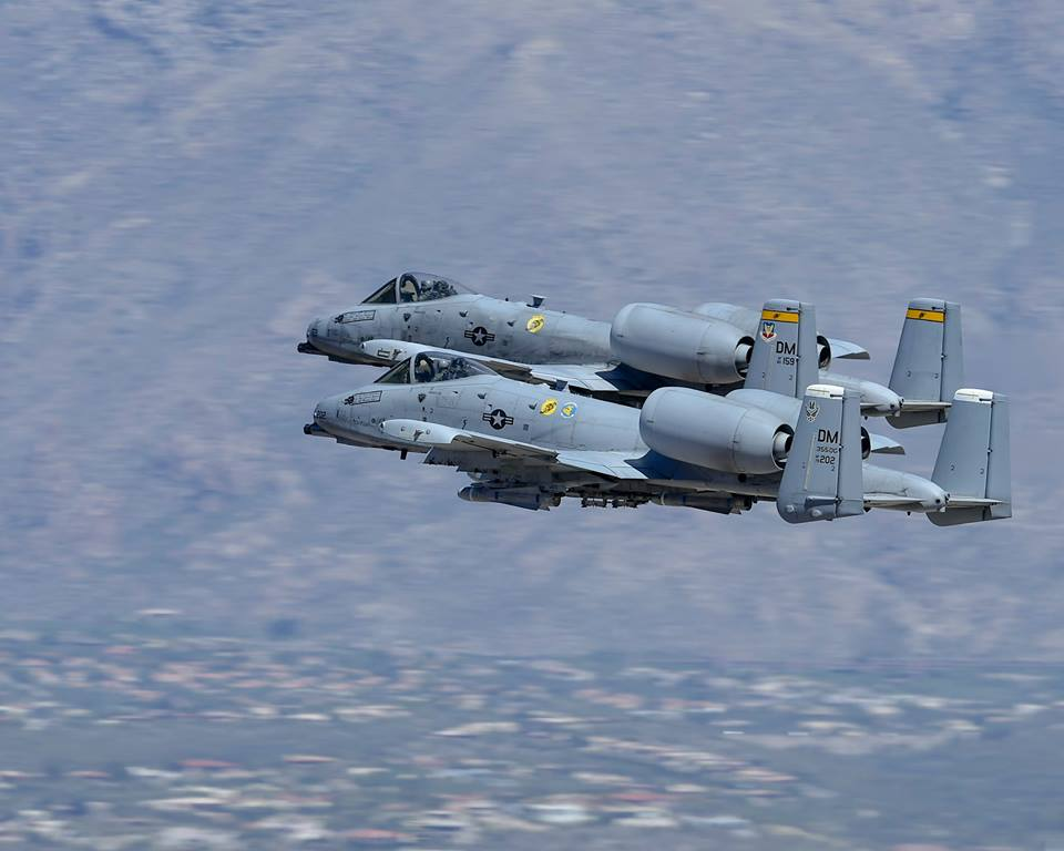 'USAF plans to retire 42 A-10 Warthogs at Davis-Monthan,' Arizona lawmaker Says
