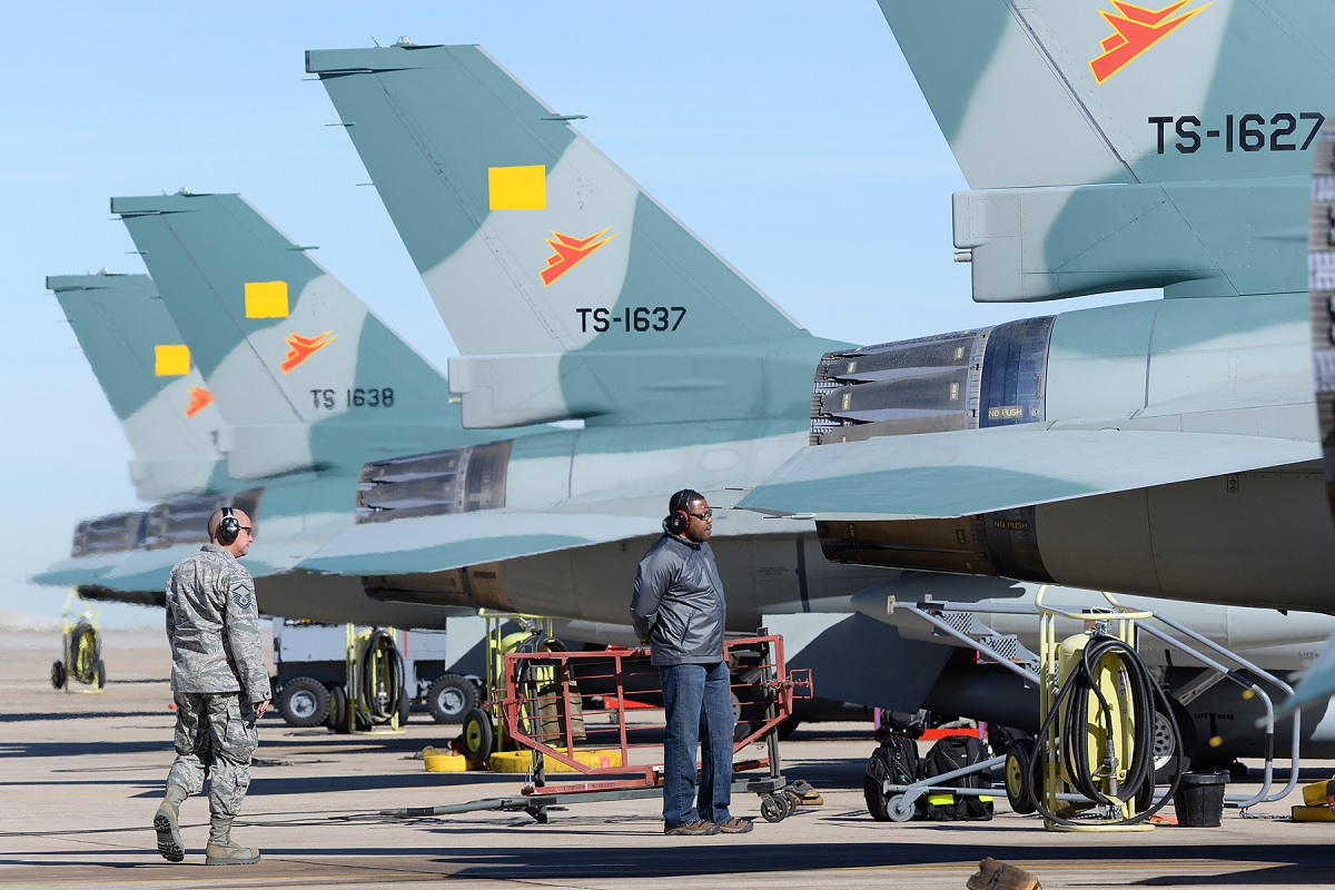 Indonesia Air Force's last two F-16s to arrive home today