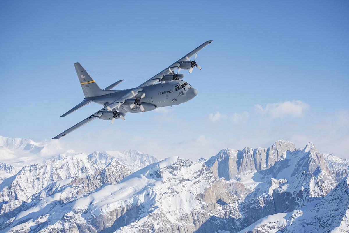 alaska air national guard bids farewell to last c130