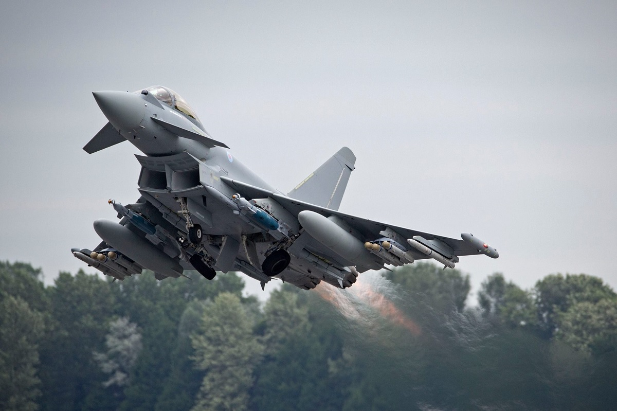BAE Ready to Deliver Final RAF Eurofighter Typhoon