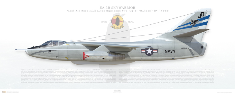EA-3B Skywarrior Print