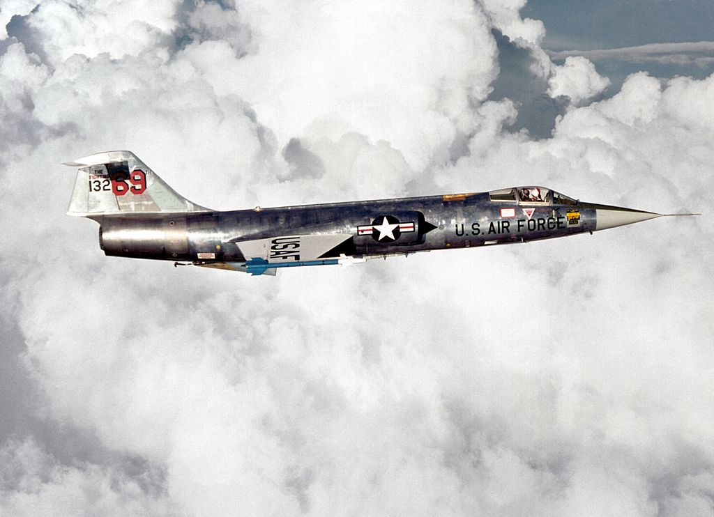 A quick look at why the F-104 Starfighter was the Best Interceptor of its Time