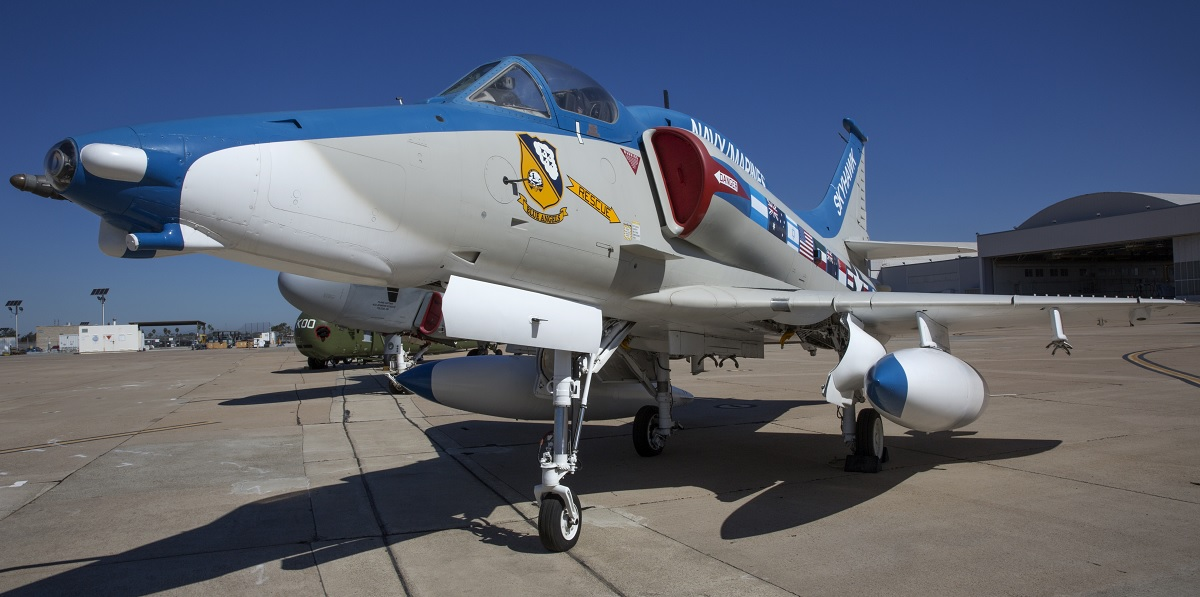 A QUICK LOOK AT FLYING LEATHERNECK AVIATION MUSEUM A-4M