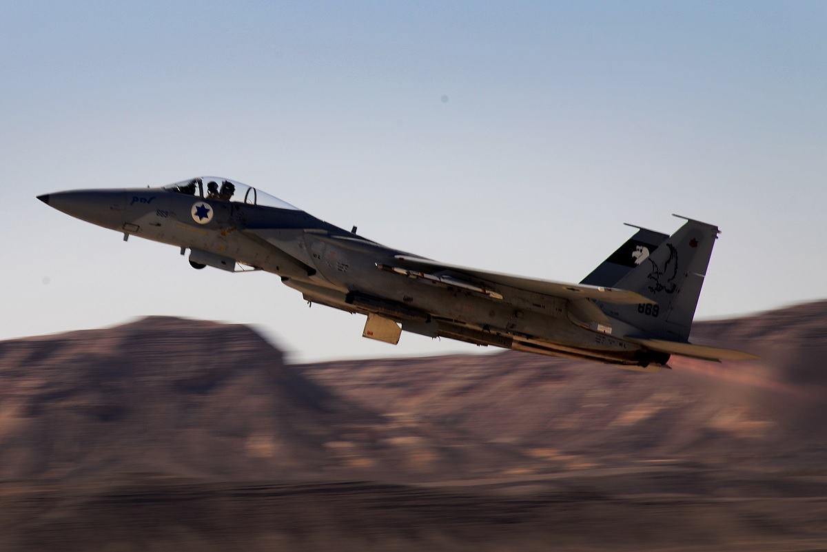 Israel withdraws F-15 fighters from Red Flag Alaska amid growing tensions with Iran and Syria