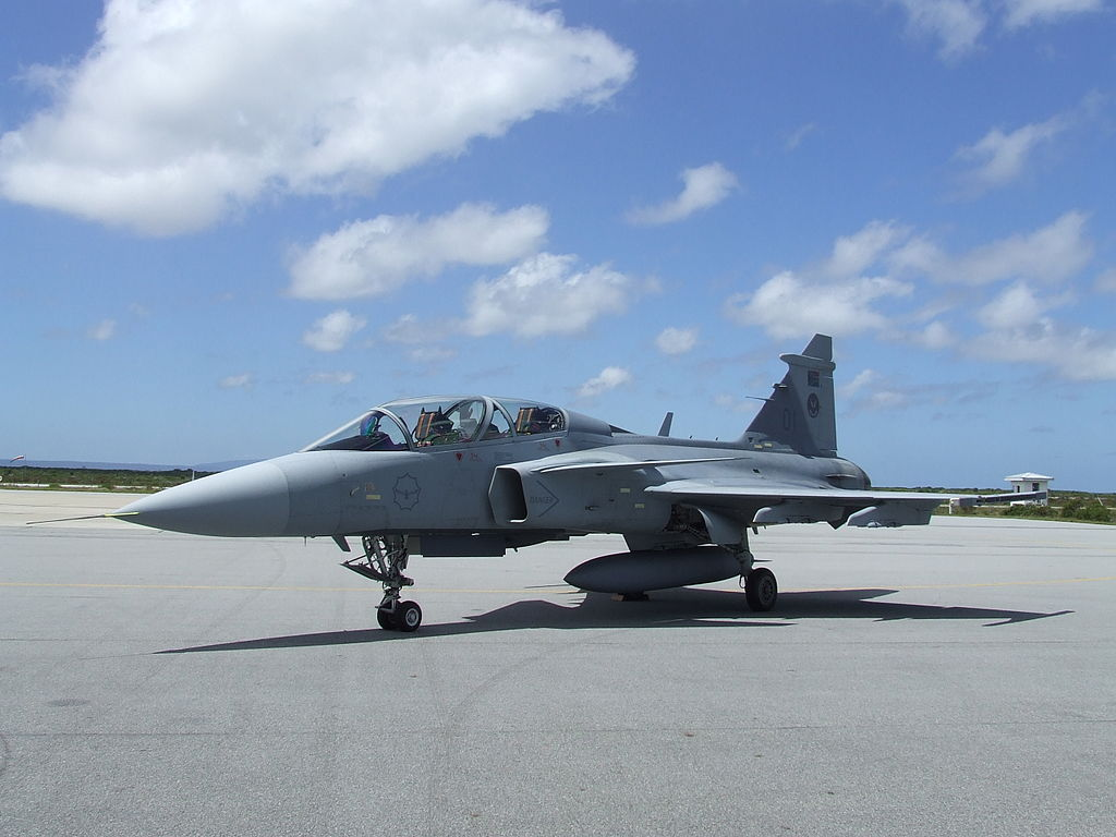 SAAB HOPEFUL CROATIA WILL START COMPETITION FOR FIGHTER JETS