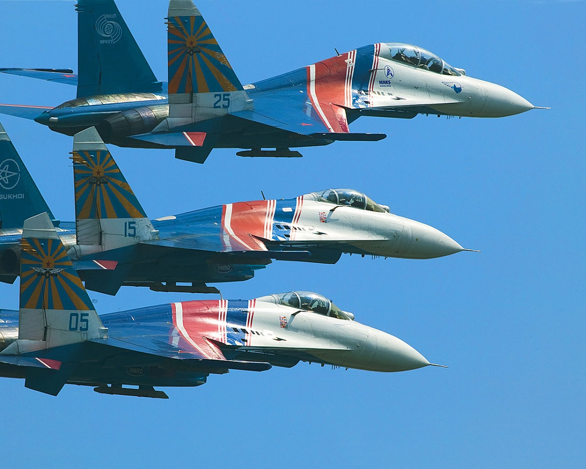 Russian Knights to Replace Su-30SM with Su-35S