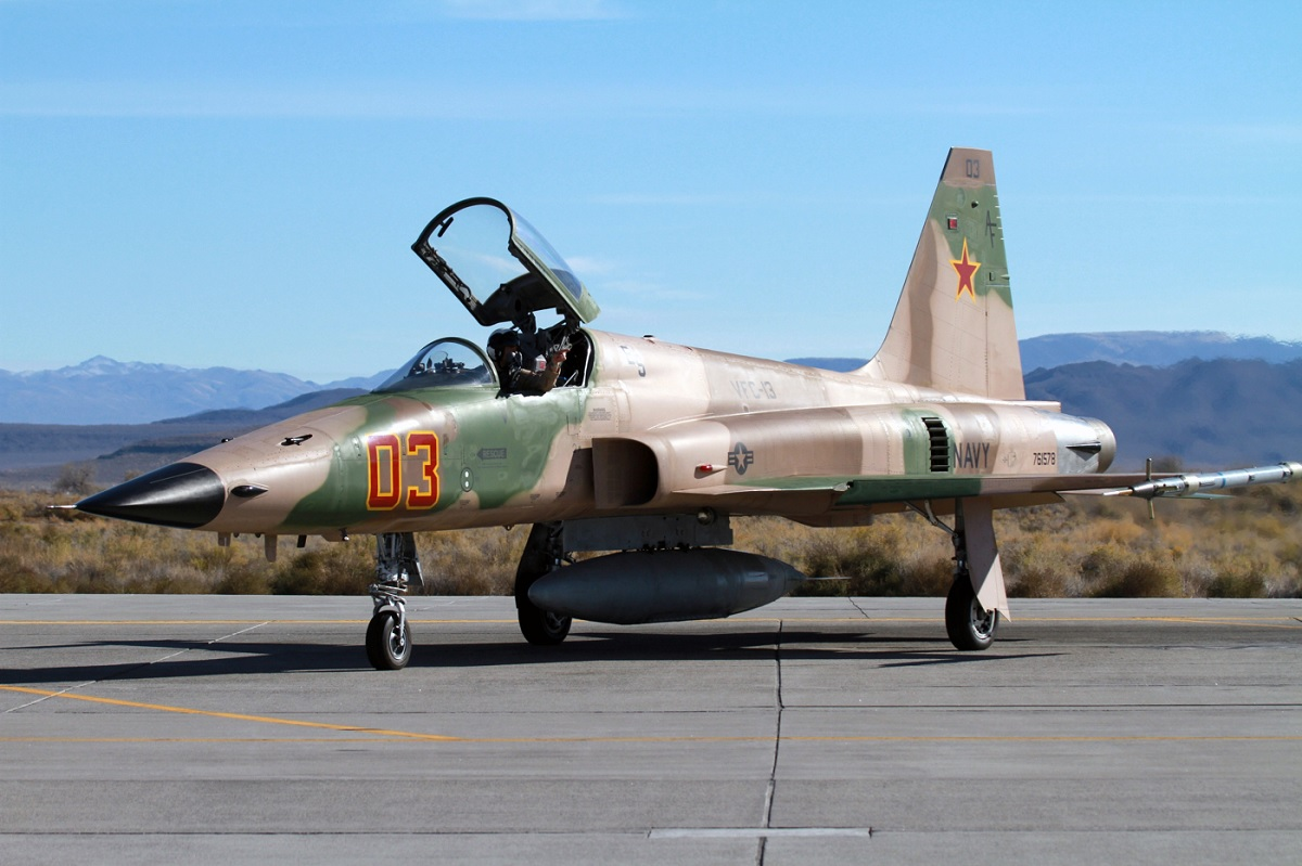 Former VFC-13 Adversary Pilot explains how you can fly and fight in the iconic F-5 Tiger II