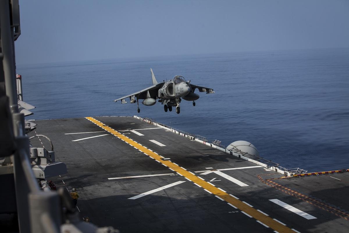 31st MEU bids farewell to AV-8B