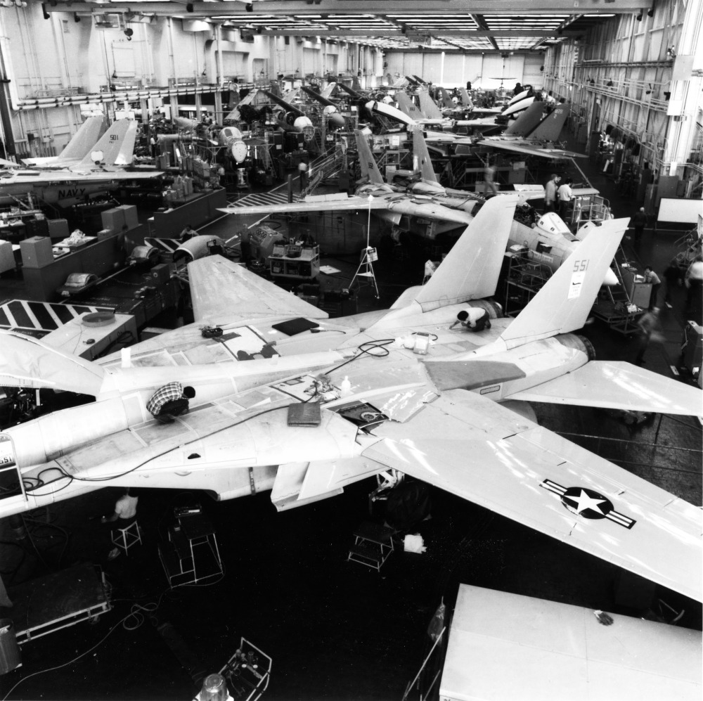 FORMER F-14 TOMCAT PRODUCTION FACILITY IS MANUFACTURING