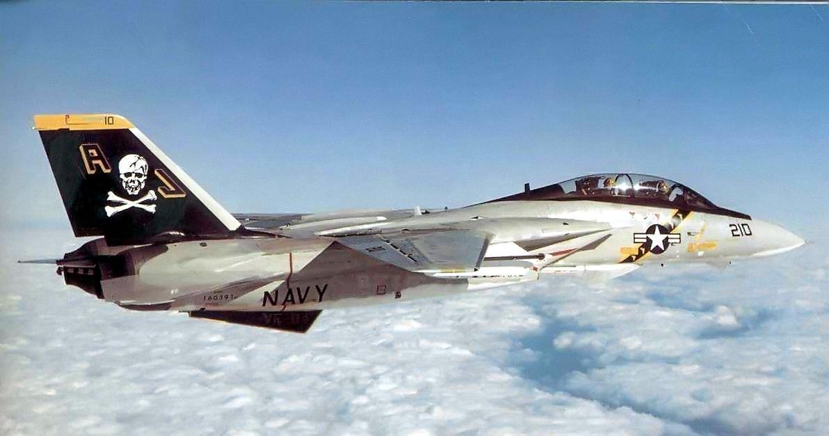 When the Foxbat Feared the Bones: VF-84 F-14s Vs Libyan MiG-25s