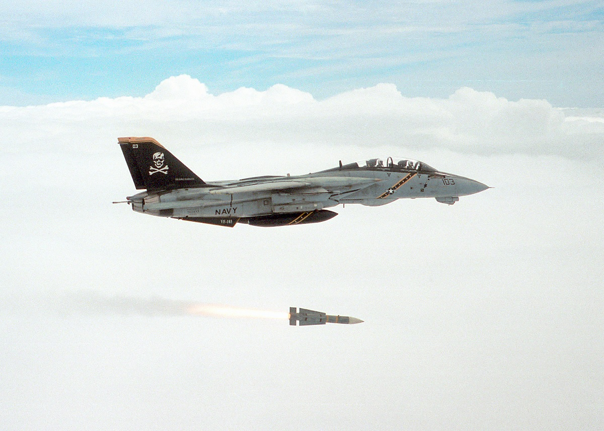 How the F-14 Tomcat sharpened his teeth: the story of the six-on-six missile shot test