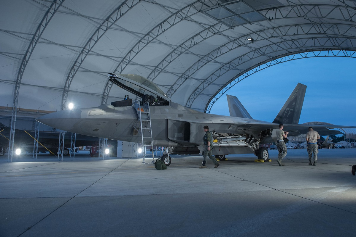 U.S. to deploy six F-22 stealth fighters to South Korea in December