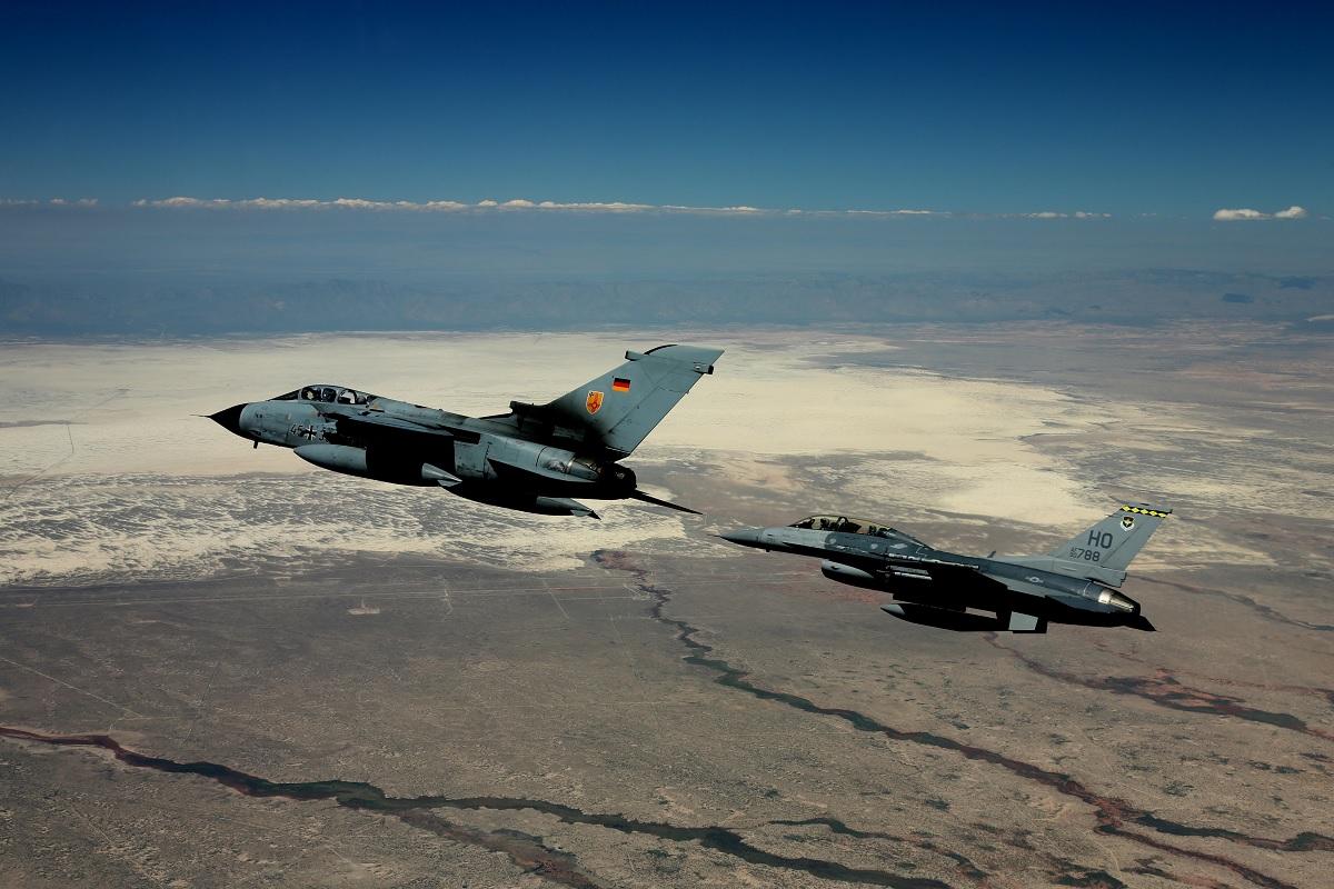 GAF Tornado Holloman F-16