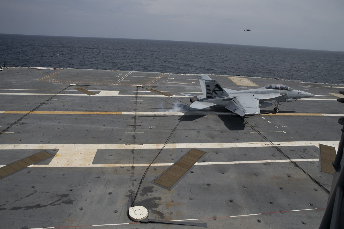 Former U.S. Naval Aviator describes Carrier Qualifications Day