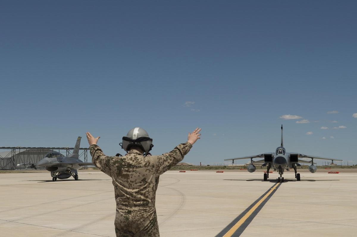 Holloman F-16 GAF Tornado