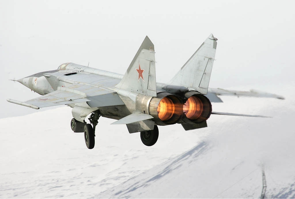 Fedotov MiG-25RB altitude world record