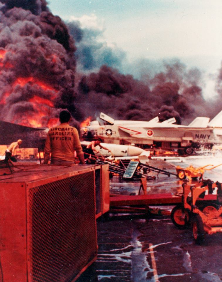 The sad story of the Forrestal Fire