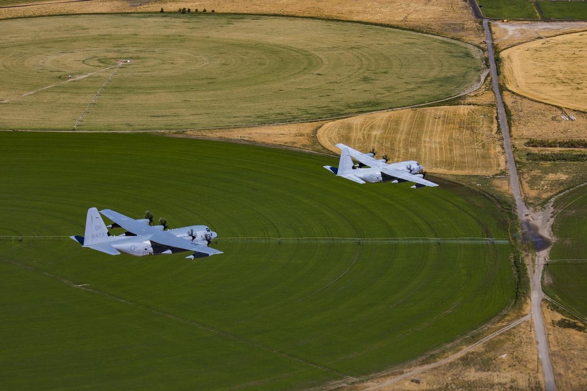 USMC KC-130s