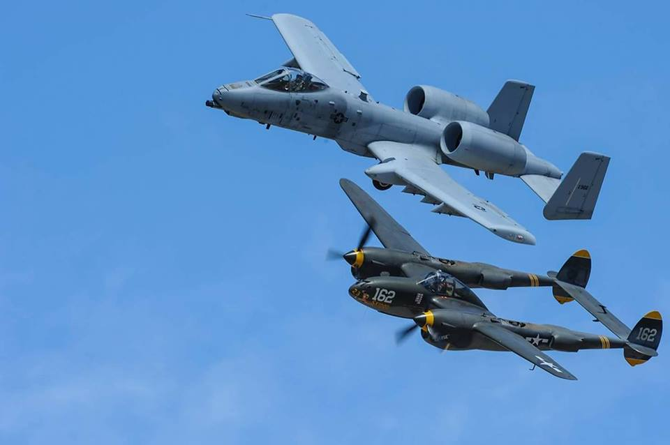 A-10 Thunderbolt II Demonstration Team to perform at 14 airshows in 2018
