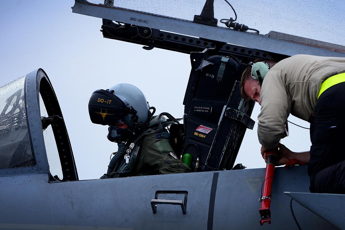 F-15C Eagle pilot