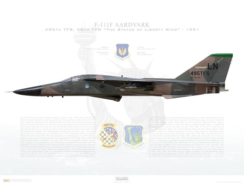 The sad story of 'Karma 52', the only F-111 lost during Operation El Dorado Canyon