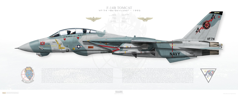 What Should've been the F-14 Tomcat's First Air-Air Kill of Desert Storm