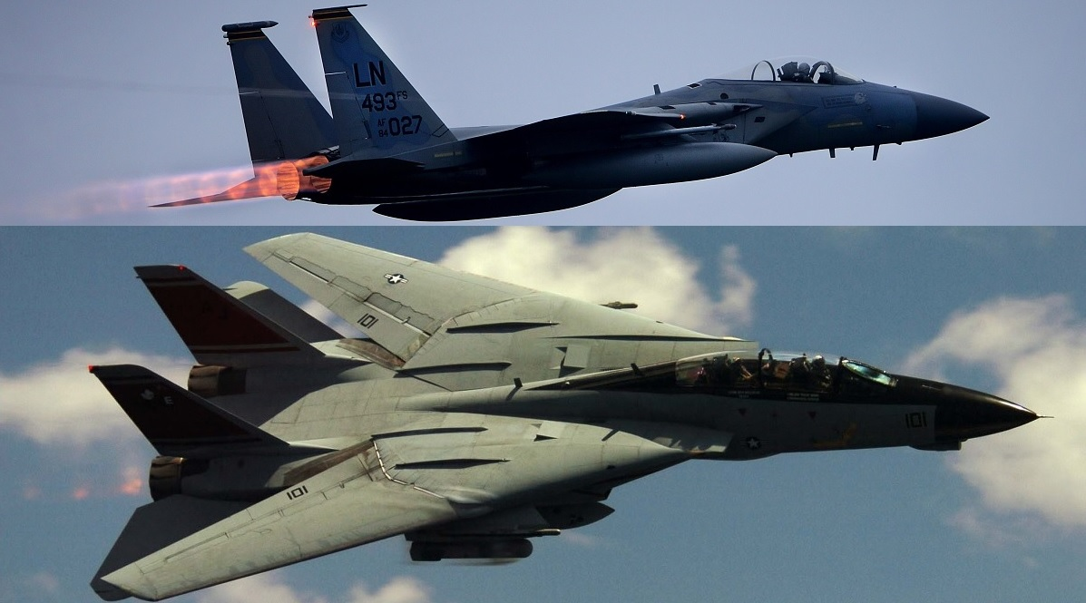 f 14 tomcat vs f 15 eagle the aircrews perspective the aviation