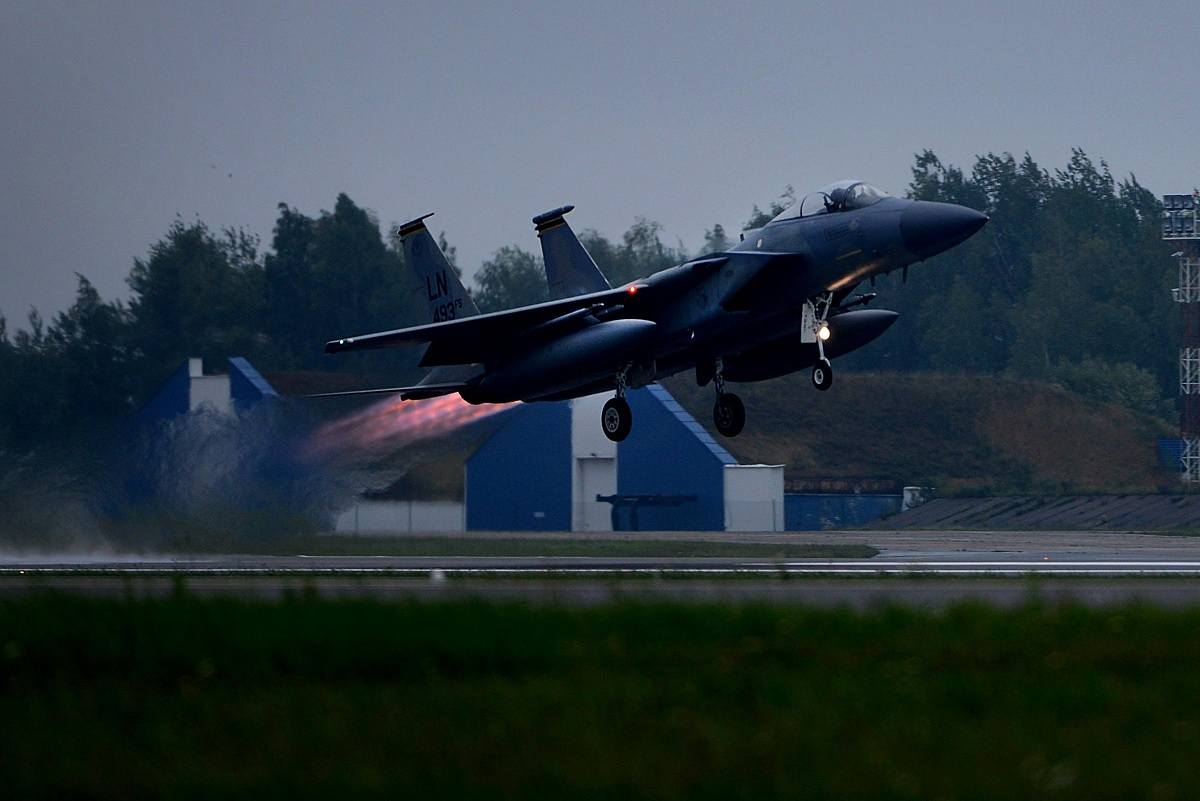 F-15C Eagle Take Off