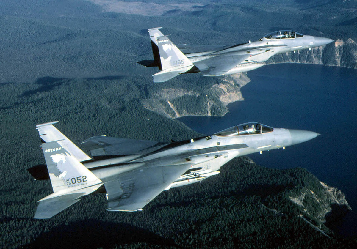 F-14 Tomcat Vs F-15 Eagle: the pilots' perspective