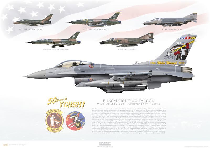F-16CJ Print