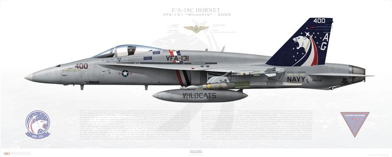 VFA-131 F/A-18C print