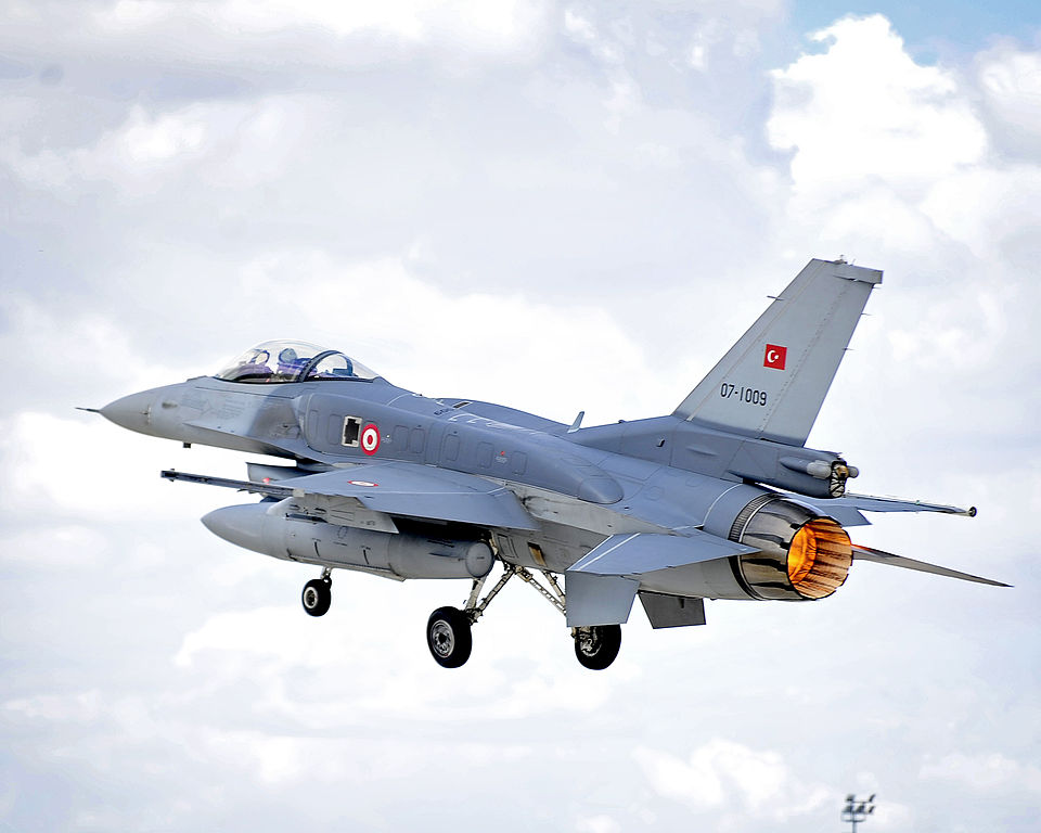 Pentagon rejects Turkish request to hire F-16 instructors from Pakistan