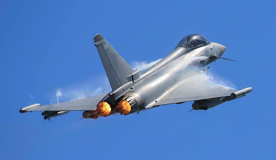 RAF Typhoon fighters scrambled to intercept Russian military aircraft in UK airspace – The Aviation Geek Club