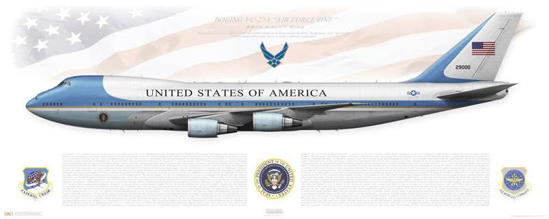 Conversion of First Boeing 747-8 into VC-25B Air Force One has started