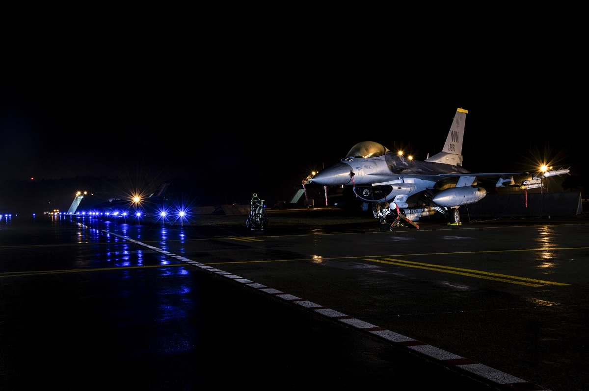 U.S. Navy EA-18G Growlers integrate with USAFF-16sand bring SEAD mission to the next level