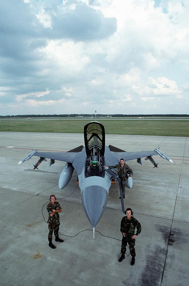 This pilot scored both the first U.S. F-16 kill and the first kill for the AIM 120 AMRAAM