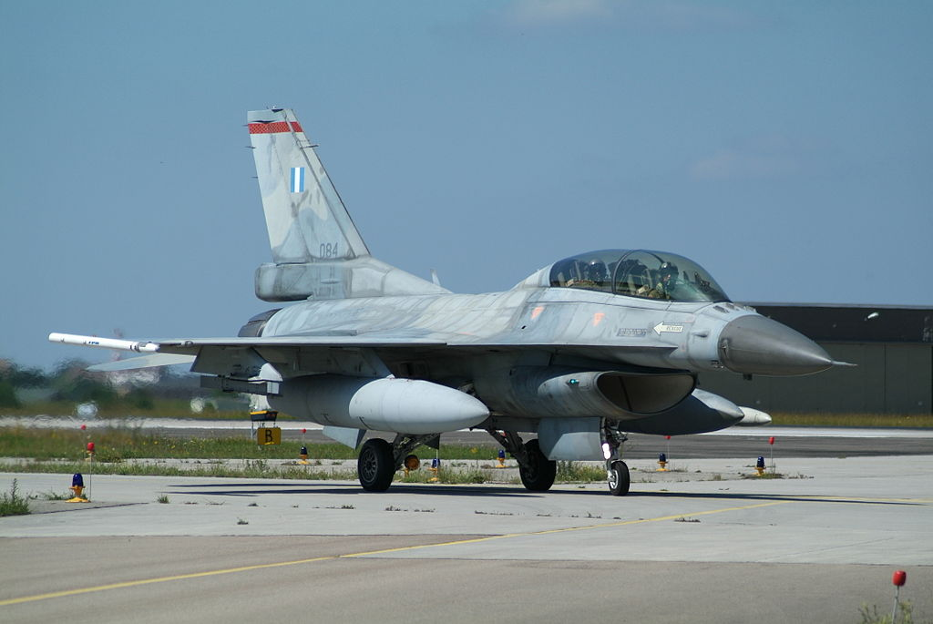 Hellenic Air Force to upgrade 123 F-16 fighters to F-16V configuration