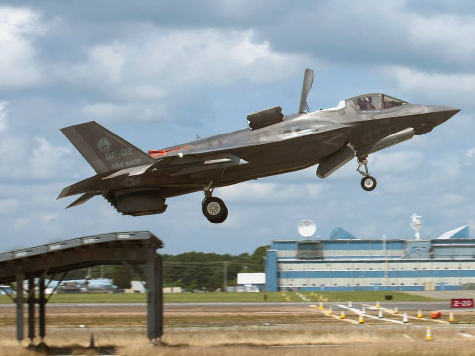 uk s f 35b completes ski ramp trials and is now cleared for takeoff