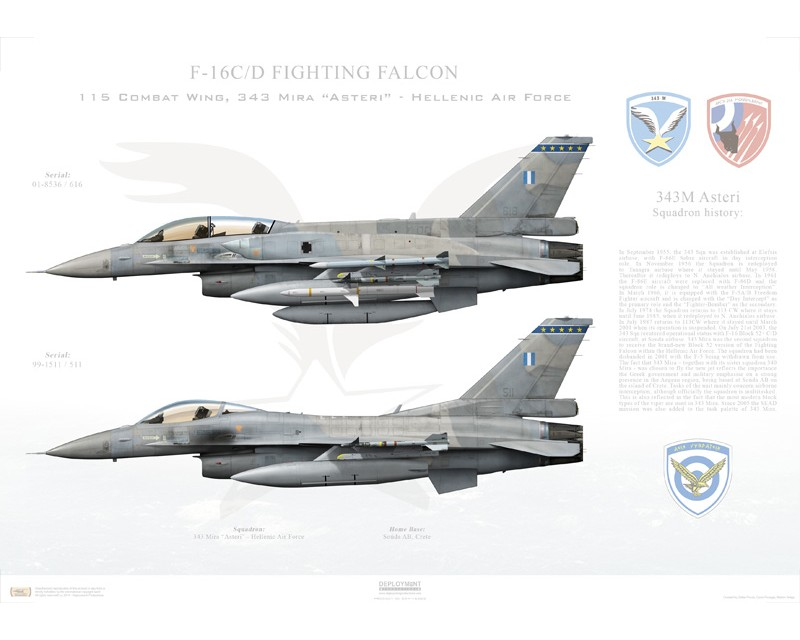 HAF F-16 Print