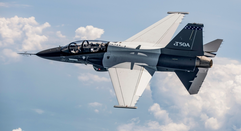 Lockheed Martin T-50A flies its 100th sortie
