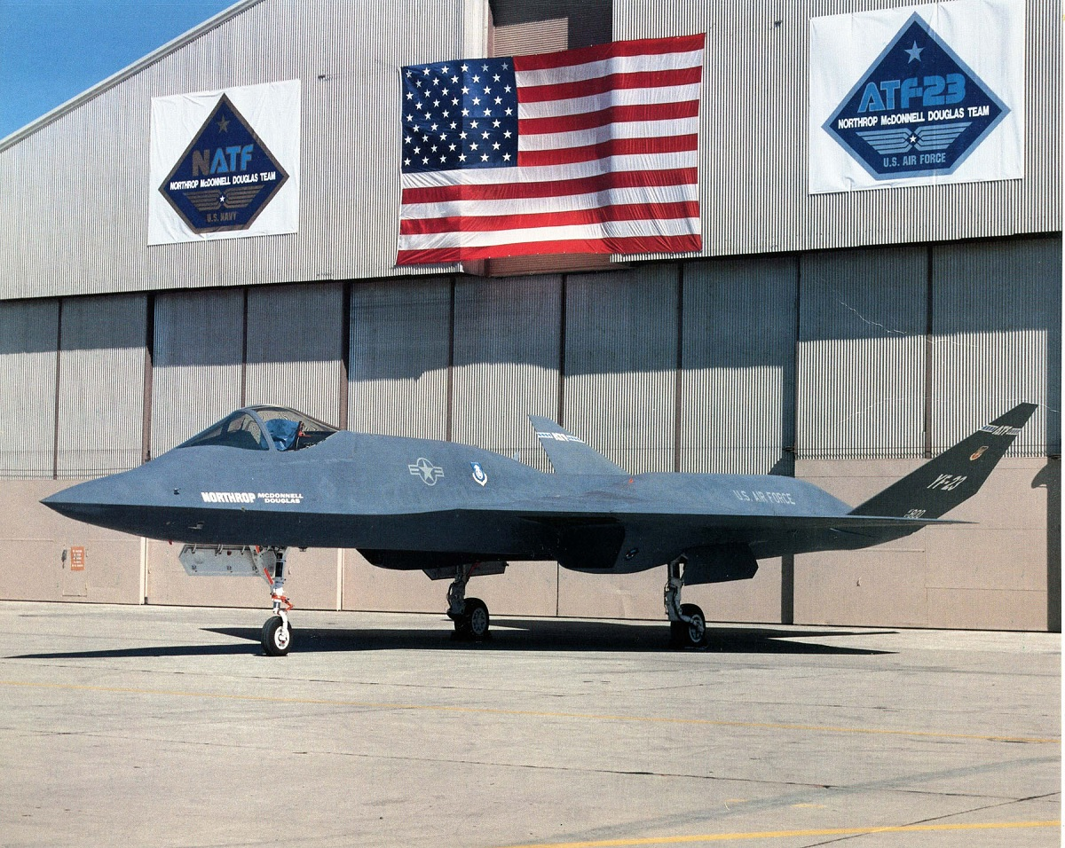 YF-23A thermal designer provides some interesting details about Northrop ATF