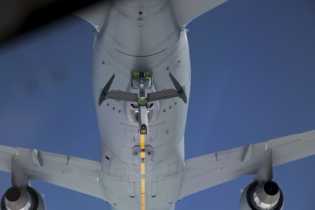 First KC-46 TO KC-46 refueling completed