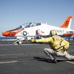 "Investigation board determines that ""T-45C instructor pilot was flat hatting"" before last October fatal crash"