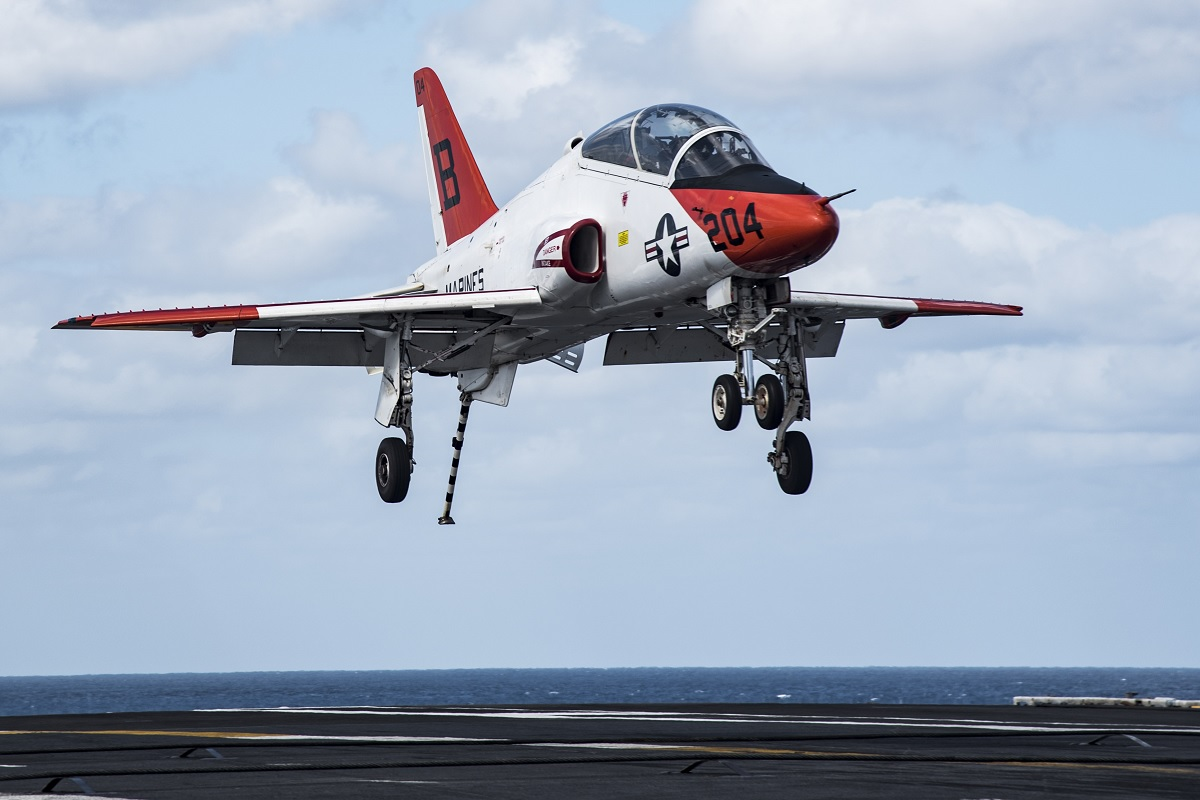 Two killed in U.S. Navy T-45C Goshawk crash