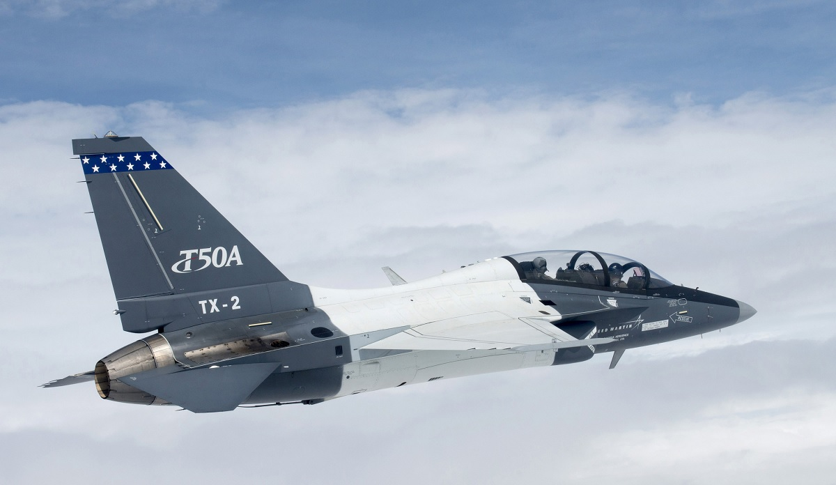 If T-50 fails to win T-X contract Lockheed Martin could offer it as T-45 replacement