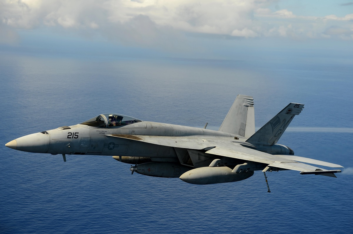 U.S. Navy has only 170 F/A-18 Super Hornet strike fighters that can fight a war