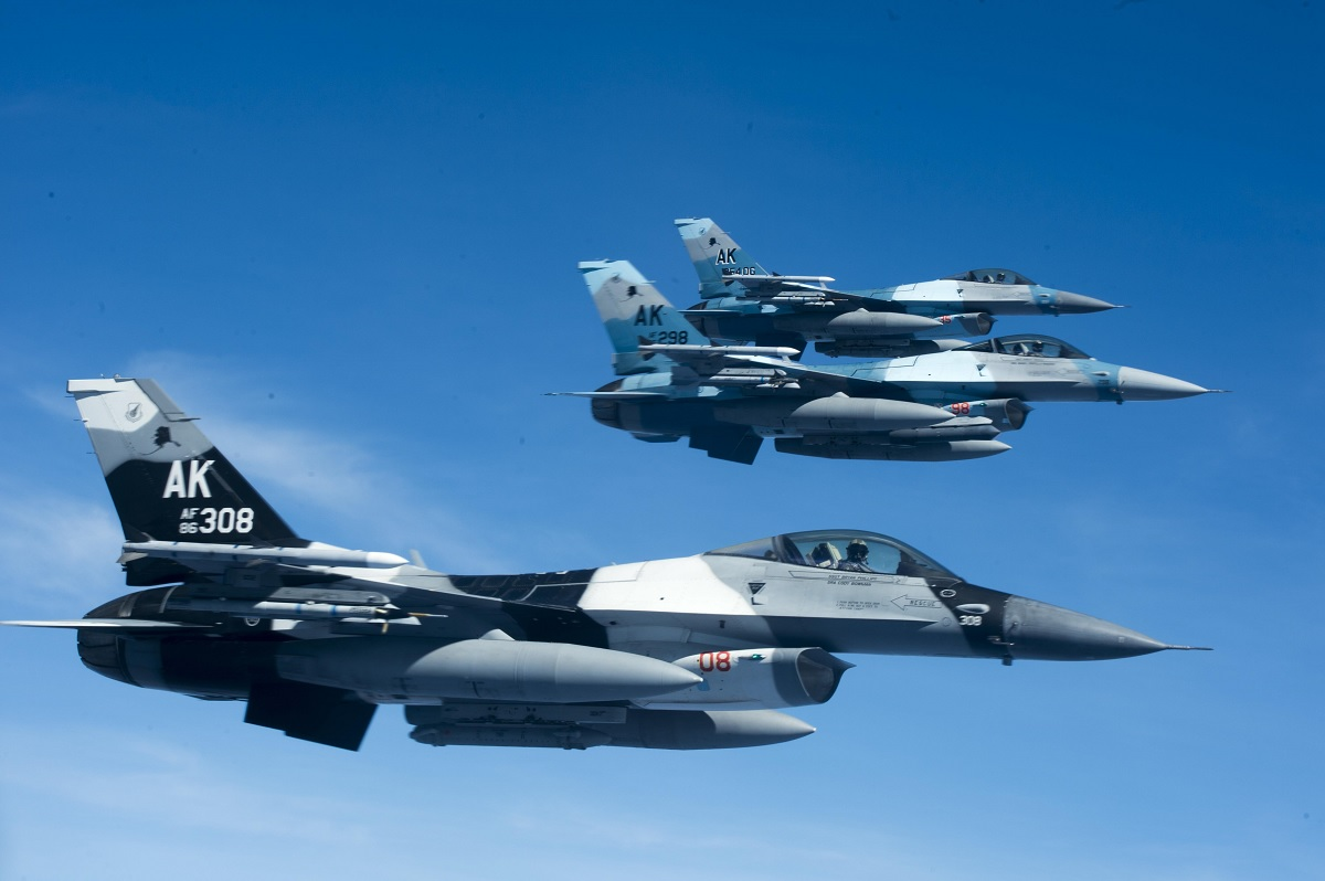 """Discovery Air Defence to offer """"a large number"""" of F-16 fighter aircraft for USAF's ADAIR competition"""